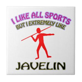 Javelin designs ceramic tiles