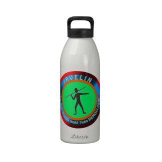 Javelin designs reusable water bottles