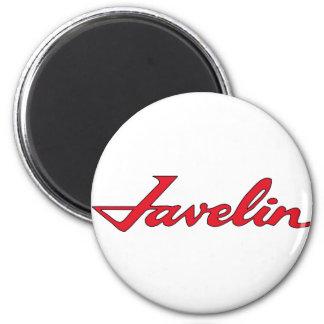 Javelin Emblem 2 Inch Round Magnet