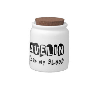 Javelin It s in my blood Candy Jar