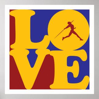 Javelin Love Poster