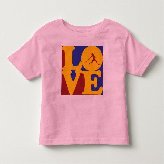 Javelin Love Toddler T-shirt