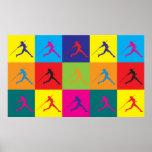 Javelin Pop Art Poster