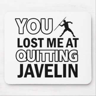 Javelin sports designs mouse pad