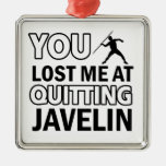Javelin sports designs ornaments