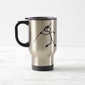 Javelin Stickman Track and Field Mug