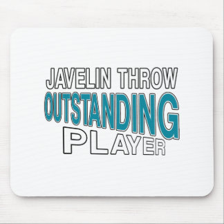 JAVELIN THROW OUTSTANDING PLAYER MOUSE PAD