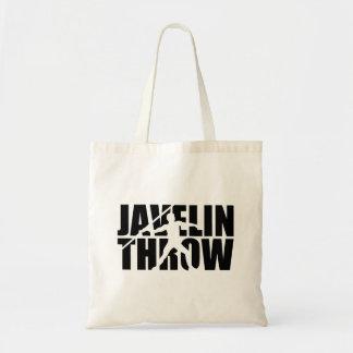 Javelin throw tote bag