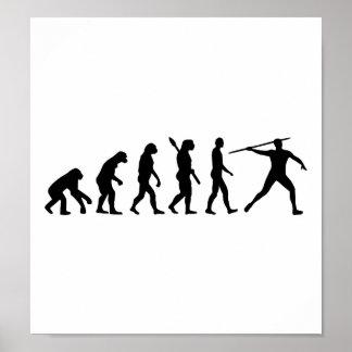 Javelin thrower evolution print
