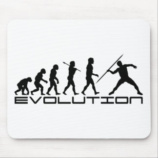 Javelin Track and Field Sport Evolution Art Mousepads