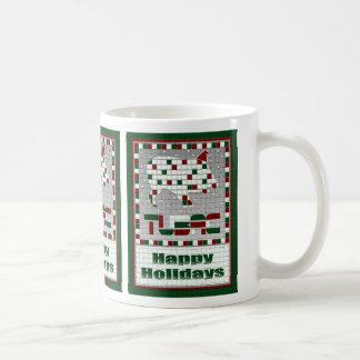 Javelina Southwest Mosaic Christmas Mug