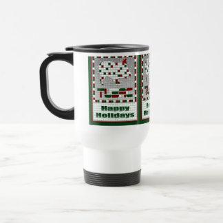 Javelina Southwest Mosaic Christmas Travel Mug