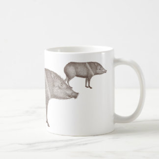 Javelinas Collared Peccaries Unique Arizona Mug