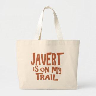 Javert está en mi rastro bolsa tela grande