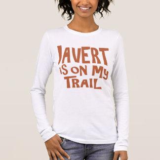 Javert está en mi rastro playera de manga larga