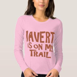Javert is on my Trail T-shirt