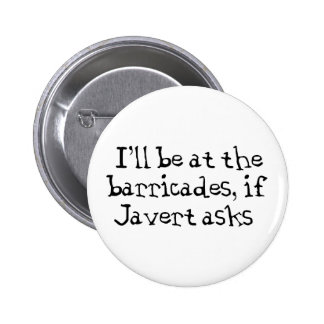 Javert Les Miserables 2 Inch Round Button