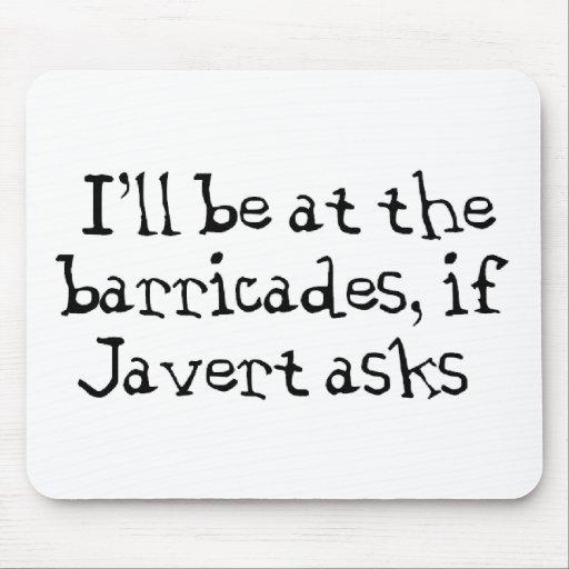 Javert Les Miserables Alfombrillas De Ratones