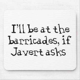 Javert Les Miserables Mouse Pad