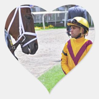 Javier Castellano & Elena's Strike Heart Sticker