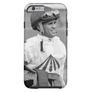 "Javier Castellano ""jinete principal en Saratoga "" Funda Para iPhone 6 Tough"