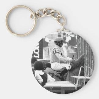 "Javier Castellano ""Leading Rider at Saratoga"" Key Chains"