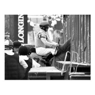 "Javier Castellano ""Leading Rider at Saratoga"" Postcards"