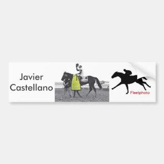 Javier Connected Bumper Sticker