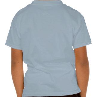 Javier en azul del fútbol tshirt