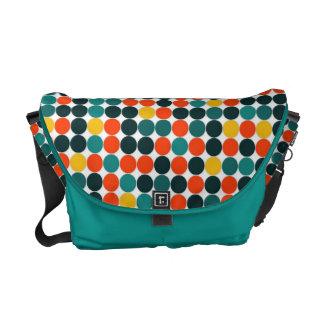 Jawbreakers Dotted Pattern Messenger Bag