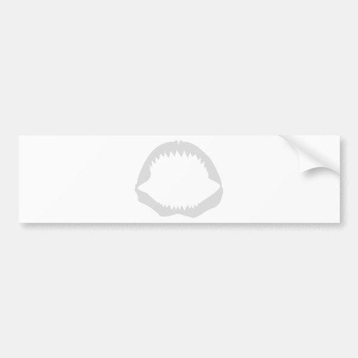 Jaws Car Bumper Sticker