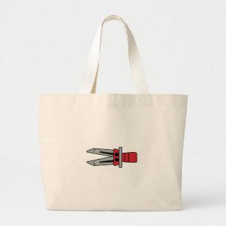 Jaws of Life Jumbo Tote Bag