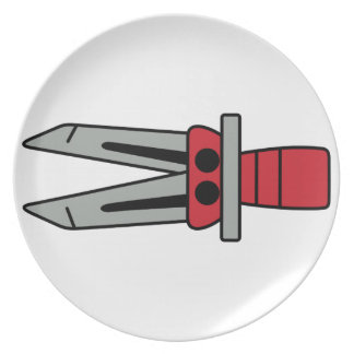 Jaws of Life Dinner Plates