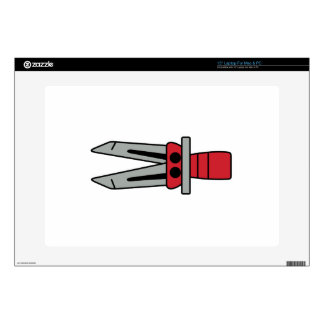 """Jaws of Life 15"""" Laptop Decals"""