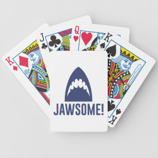 Jawsome Bicycle Playing Cards