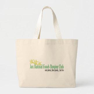 Jax Natural Foods Classic Tote Canvas Bag