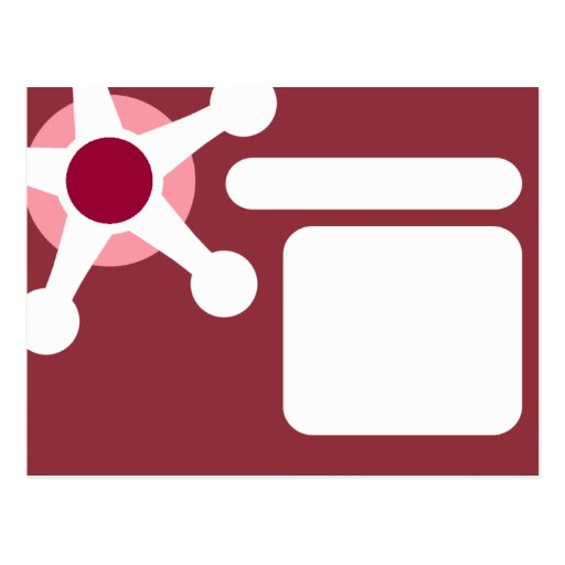 jax. retro rosado tarjetas postales