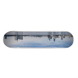 jax skyline pano skateboard deck