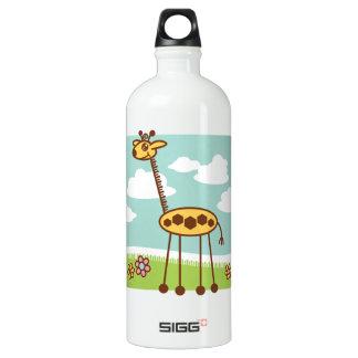 Jax the Giraffe Aluminum Water Bottle