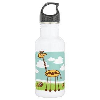 Jax the Giraffe Stainless Steel Water Bottle