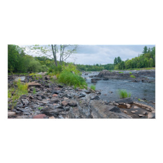 Jay Cooke State Park and River Custom Photo Card