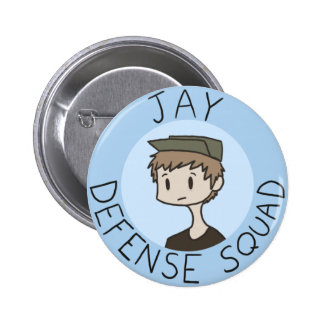 Jay Defense Squad Button