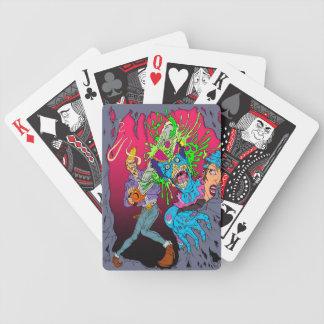 Jay el rodillo santo baraja cartas de poker