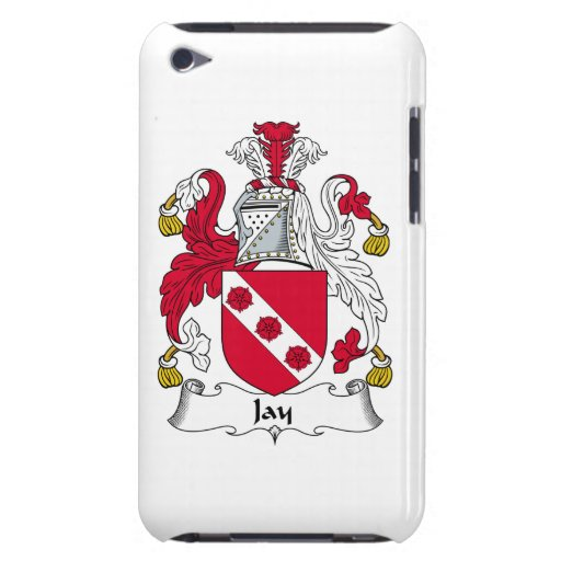 Jay Family Crest iPod Touch Cases