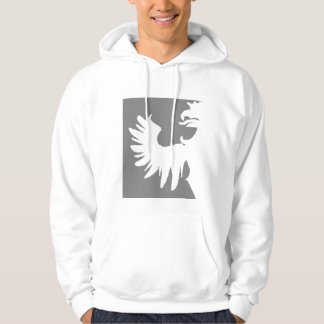 Jay Niani - Center Logo Cut out Griffin - Grey Hoodie