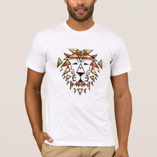 Jay Niani - Shredded Lion - Fall Plaid - Center T-Shirt
