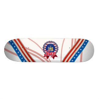 Jay, NY Skate Deck