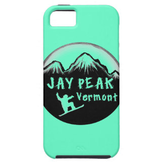 Jay Peak Vermont artistic skier iPhone 5 Cover
