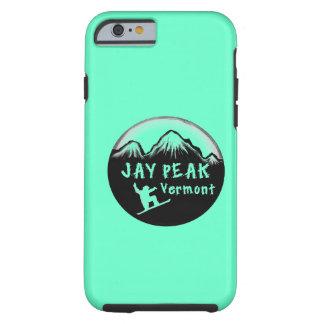 Jay Peak Vermont artistic skier iPhone 6 Case