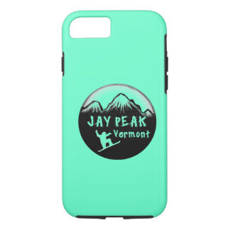Jay Peak Vermont artistic skier iPhone 8/7 Case